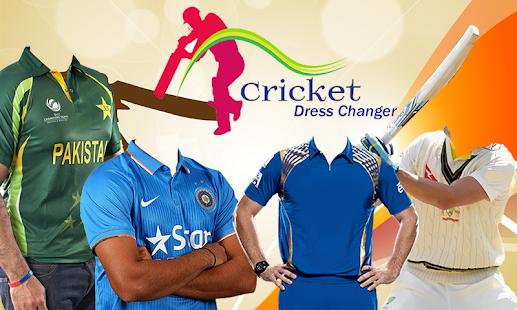 Cricket Dress Changer 2017 screenshot