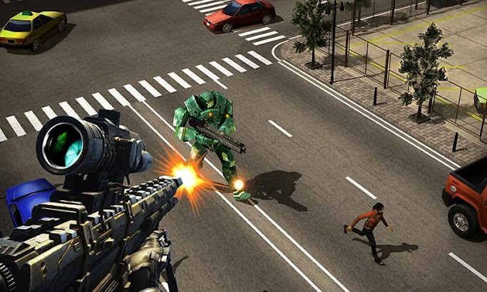 Sniper Robots- screenshot thumbnail