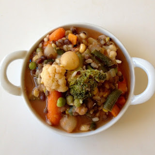 Italian Bean Trio Stew