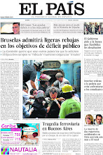 Photo: Bruselas admitirá ligeras rebajas en los objetivos de déficit público; tragedia ferroviaria en Buenos Aires y el Gobierno pide a la banca que flexibilice los desahucios, en nuestra portada del jueves 23 de febrero