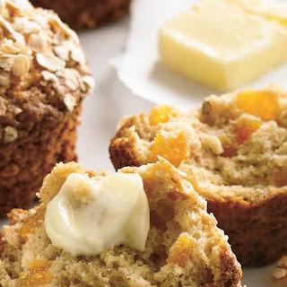 Apricot-Oatmeal Muffins.
