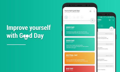 Good Day – Smart Tool for Self Improvement Screenshot