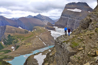 Photo: Grinnell Overlook - one of the coolest places in the park.