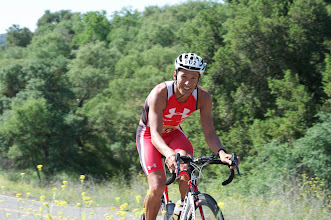 Photo: 13. Macca tempered his effort to save his legs for next week's ITU event.