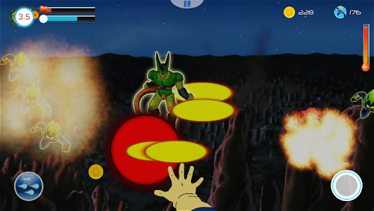 Dragon Z Saiyan Blast War v1.4.0 (Mod Power/Coin)