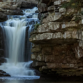 Waterval at uvongo by Elna Geringer - Landscapes Waterscapes