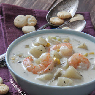 Slow Cooker Shrimp and Corn Chowder