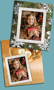 Merry Christmas Photo Frames & Greetings - náhled