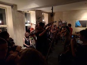 Photo: Dancing fiddlers! Impressive.