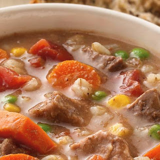 Slow-Cooker Beef and Barley Soup Recipe