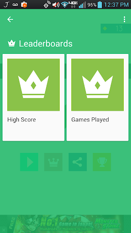 Screenshots for Square Master Challenge