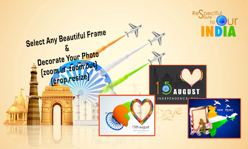 15 Aug-Independence day Frames
