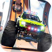 Monster Truck Stunt Game 2016