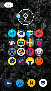 Oron - Icon Pack Screenshot