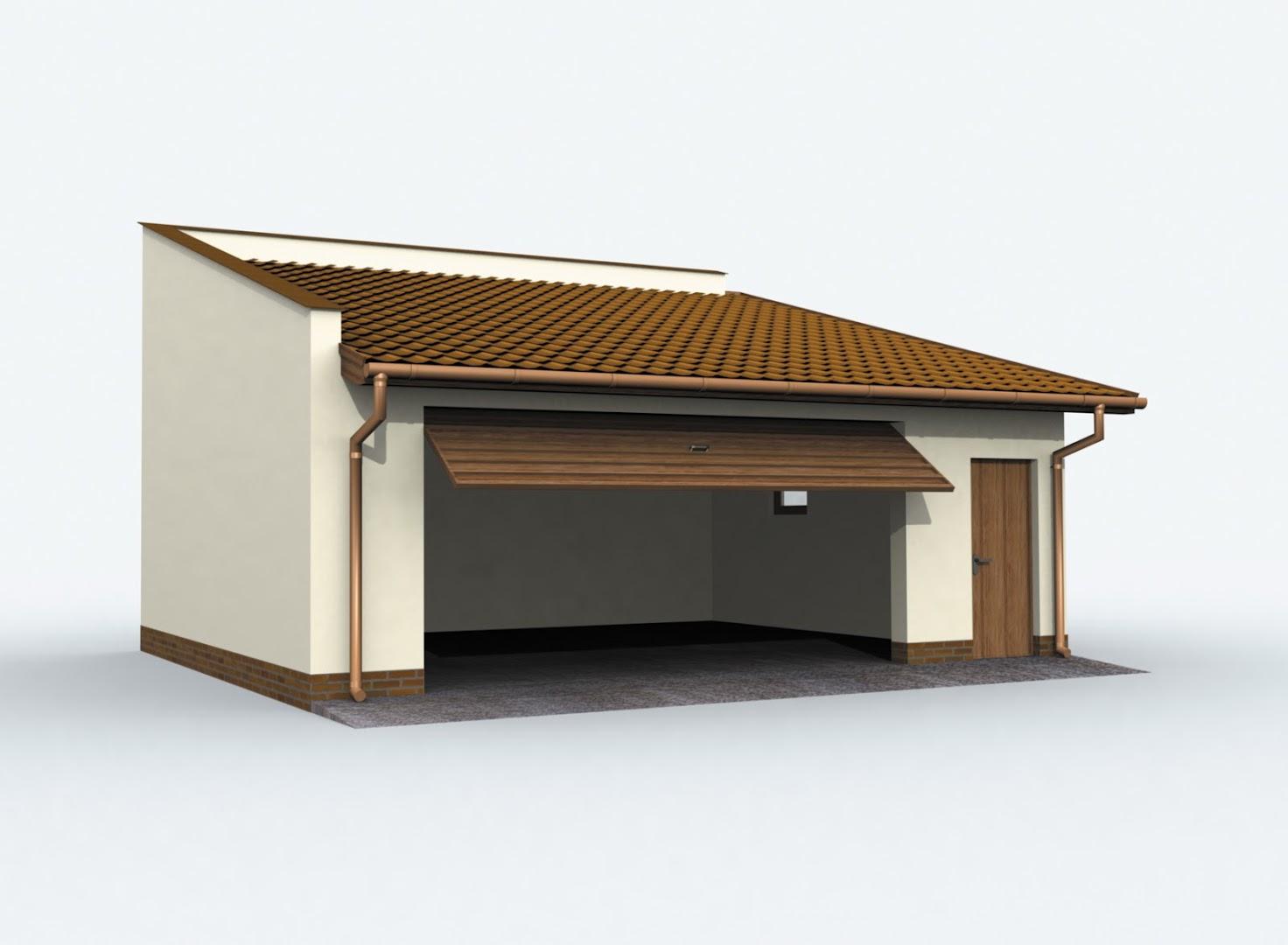 Projekt Garażu G80 Tlb 321 4908m²