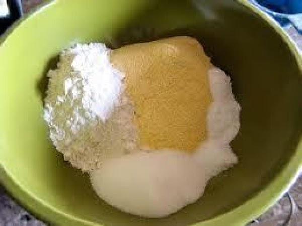Whisk flour, cornmeal, baking powder and soda in a medium bowl  blend well.Add...
