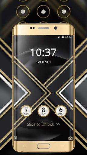 Black Gold X Launcher 1.1.7 1