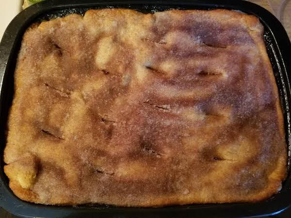 Apple Pie Sopapilla Cheesecake
