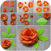 Flower Making Step By Step