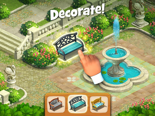 Gardenscapes  screenshots 11
