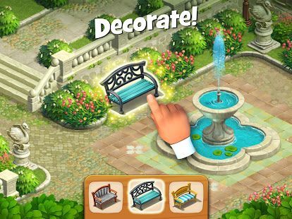 Screenshots of Gardenscapes for iPhone