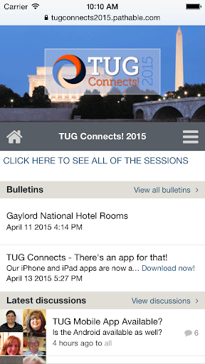 TUG Connects 2015