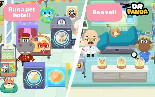 Dr. Panda Town: Pet World  screenshots 4