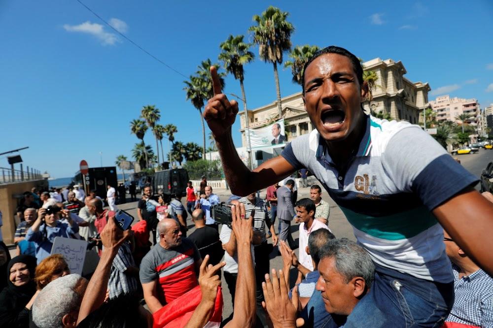 Egipte protesoptogte sal voortgaan, maar Fattah al-Sisi trek hulle af
