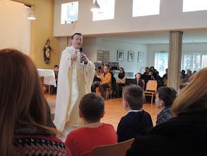 Photo: eine Antwort freut Peter besonders: Beten