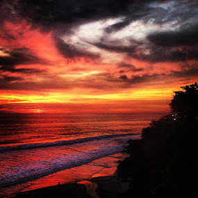 sunset can never be more colorfull than this... by Abul Faizy S M - Instagram & Mobile iPhone