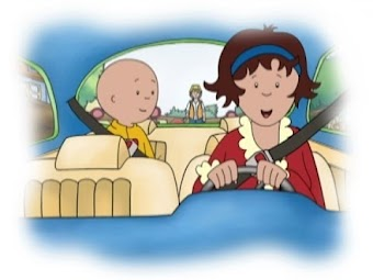 Caillou the Road Builder
