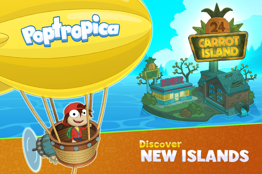 Poptropica Worlds screenshot