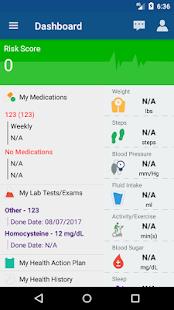 DeerwalkOne Health Portal - náhled