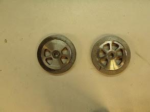 Photo: Usinage fini sur les 2 types d'ébauches