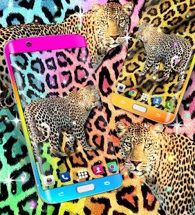 Cheetah leopard print live wallpaper - náhled