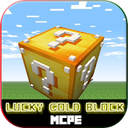 Lucky Gold Blocks for MCPE 1.4 Icon