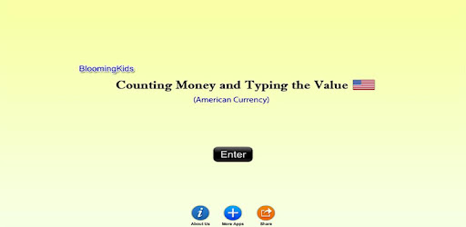 American Counting Money And Typing The Value Lite