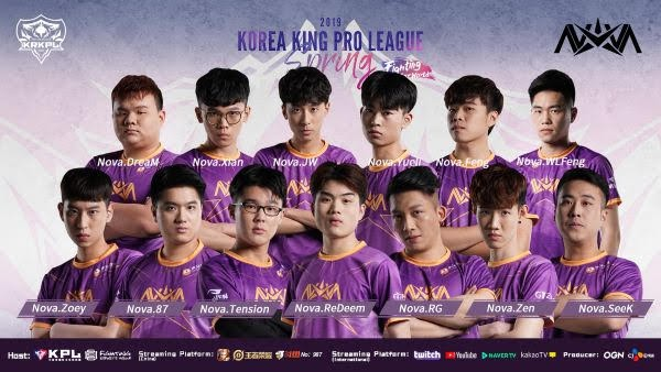 [KRKPL 2019 Spring season] Nova won the GOG and kept fifth