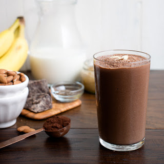Dark Chocolate Almond Butter Smoothie