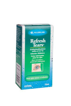 REFRESH TEARS 0.5%   SOL.OFT. FCO.X15ML. ALL CARBOXIMETILCELULOSA SÓDI
