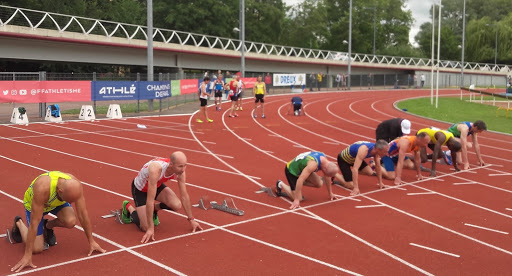 Eric au 100m