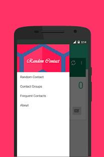 Random Contact - náhled