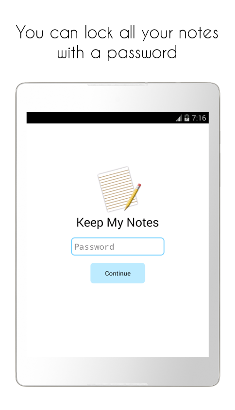 Keep My Notes - Notepad & Memo- screenshot