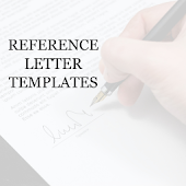 REFERENCE LETTER TEMPLATES
