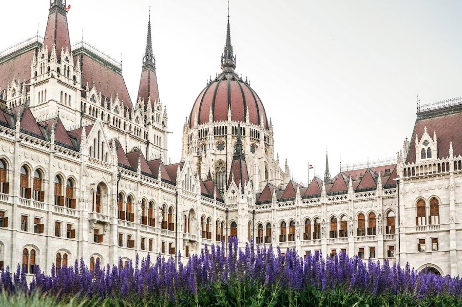 Parlament, Budapest, Hungary by Elena Lashneva - Buildings & Architecture Public & Historical ( budapest, parlament, hungary )