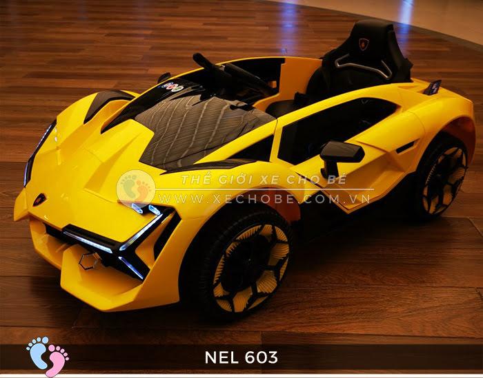 xe ô tô điện trẻ em Lamborghini NEL-603 17