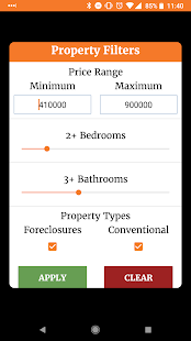 Free Real Estate and Foreclosures List by ALLHUD - náhled