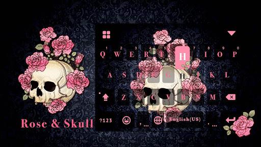 Rose Skull Kika Keyboard for PC