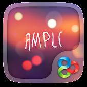 Ample GO Launcher Theme