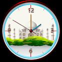Tajmahal Clock Live Wallpaper icon